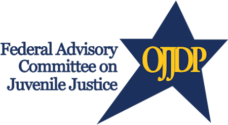 Federal Advisory Committee on Juvenile Justice logo