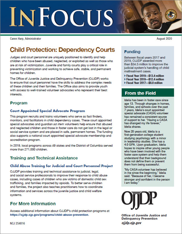 Child Protection: Dependency Courts