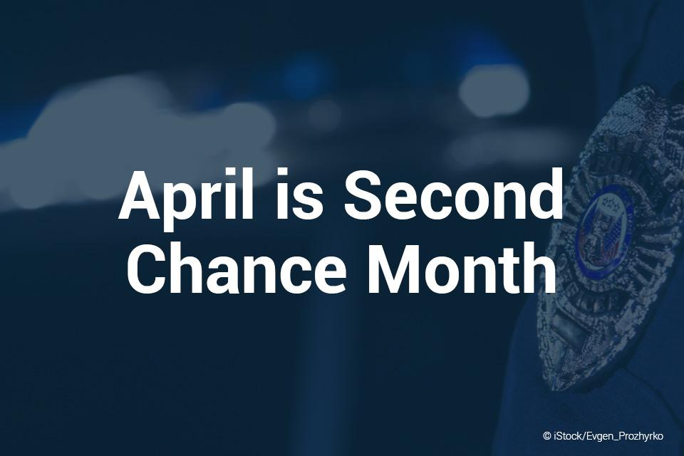 April is Second Chance Month 960x640