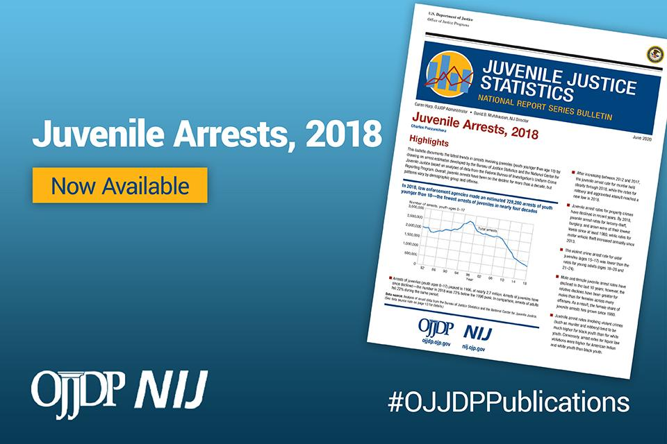 Juvenile Arrests, 2018