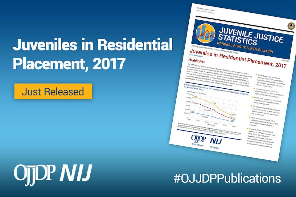 Juveniles in Residential Placement, 2017