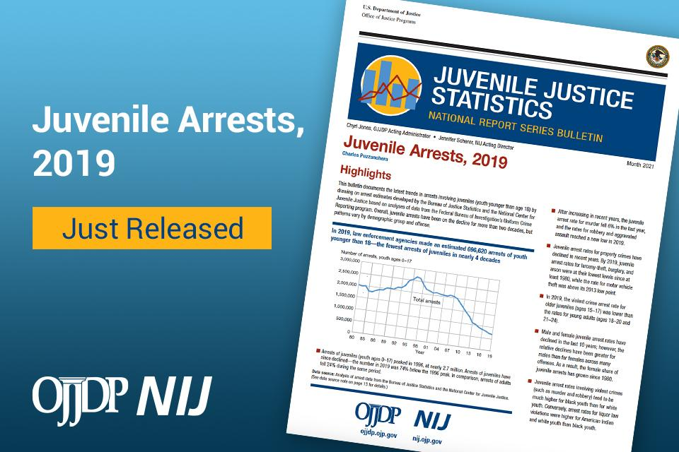 Juvenile Arrests, 2019