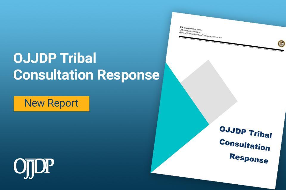 OJJDP Tribal Consultation Response cover image