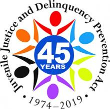 Juvenile Justice and Delinquency Prevention Act 1974 - 2019 Logo