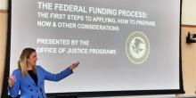 Office of Justice Programs' Training and Outreach Sessions 600x300