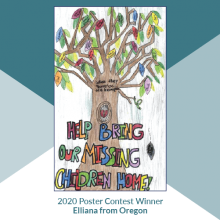 JUVJUST - National Missing Children's Day 38th Annual Poster Contest